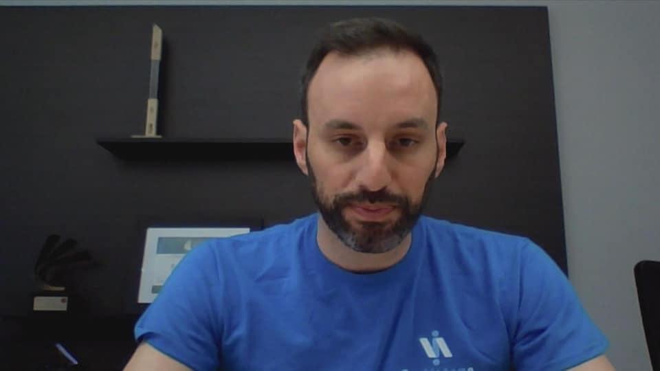 Jean-Sébastien Daigle en entretien via Skype.