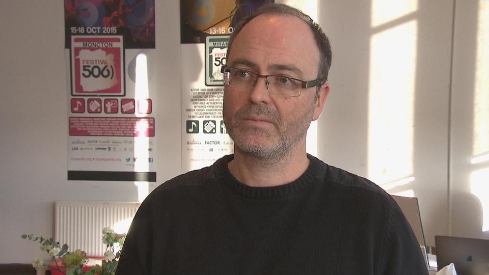 Jean Surette, directeur général de Musique NB.
