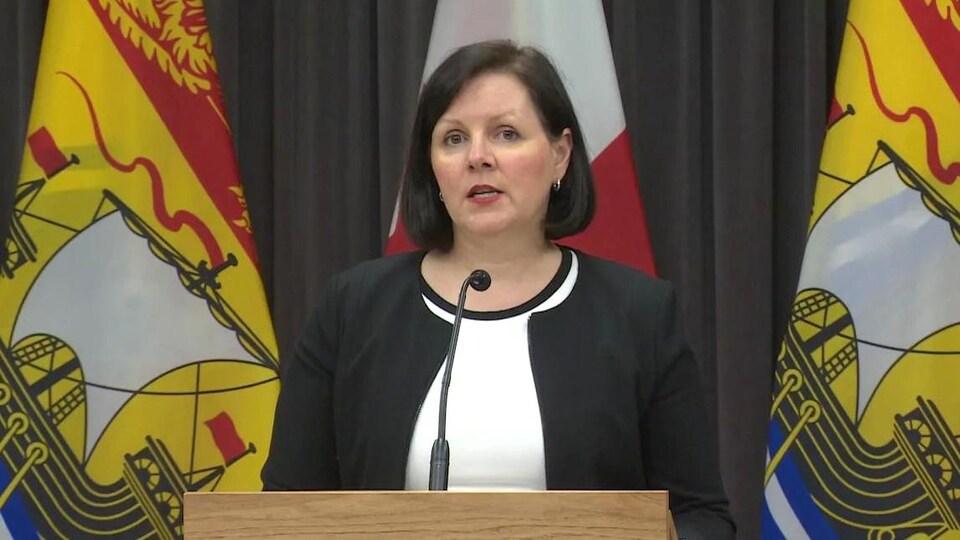 La docteure Jennifer Russell, médecin hygiéniste en chef du Nouveau-Brunswick.