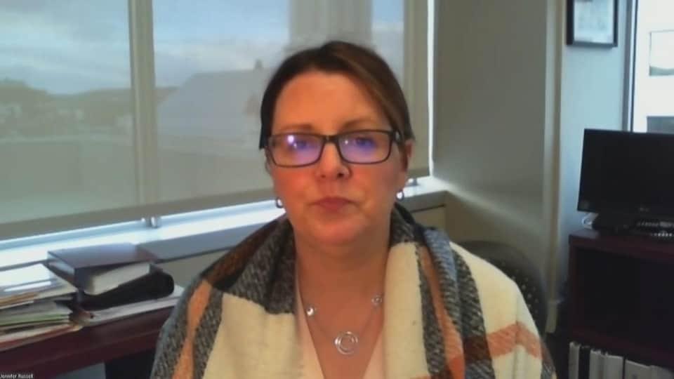 La médecin hygiéniste en chef Jennifer Russell en entrevue le 18 novembre 2020.