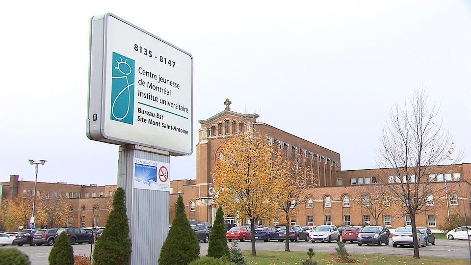 Le site Mont Saint-Antoine du centre jeunesse de Montréal