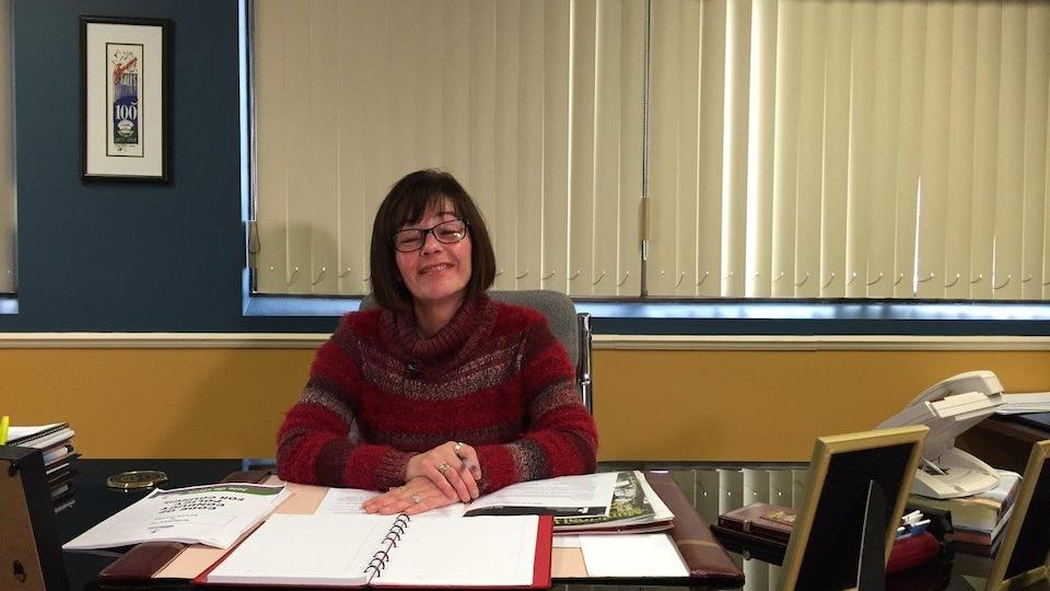Joanne Savage, mairesse de Nipissing Ouest