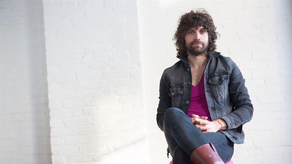 Le musicien Joël Couture.