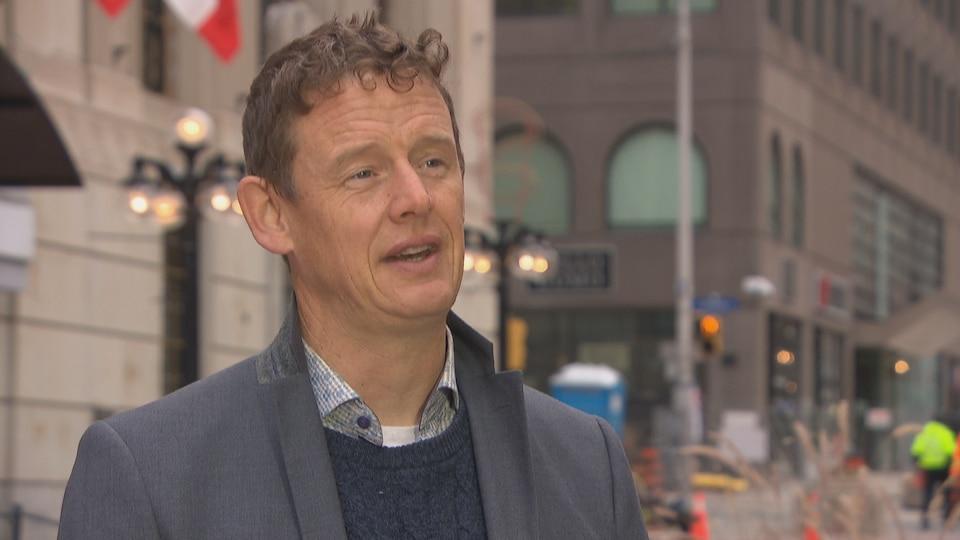 Joel Harden, député du NPD.