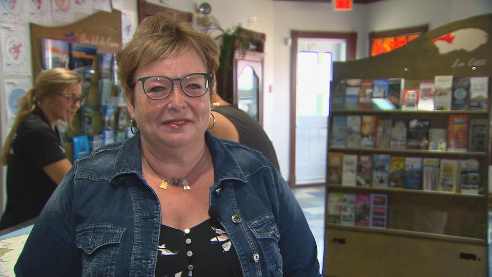La directrice générale de Tourisme Gaspésie, Joëlle Ross
