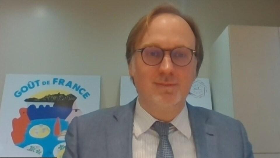 Le consul général de France pour les provinces de l'Atlantique, Johan Schitterer.