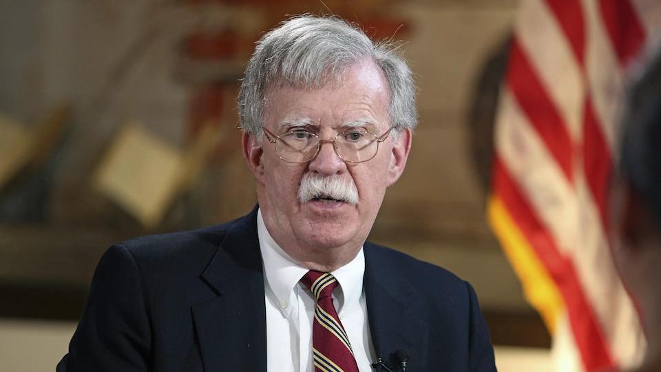 John Bolton, le conseiller à la sécurité nationale du président américain Donald Trump.