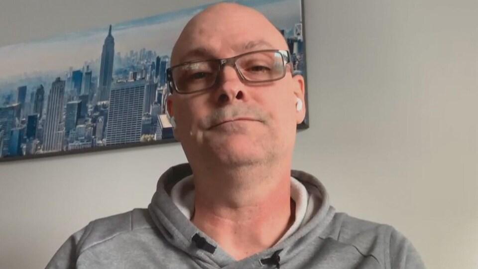 Le Dr John Tobin, le 18 décembre 2020, par visioconférence.