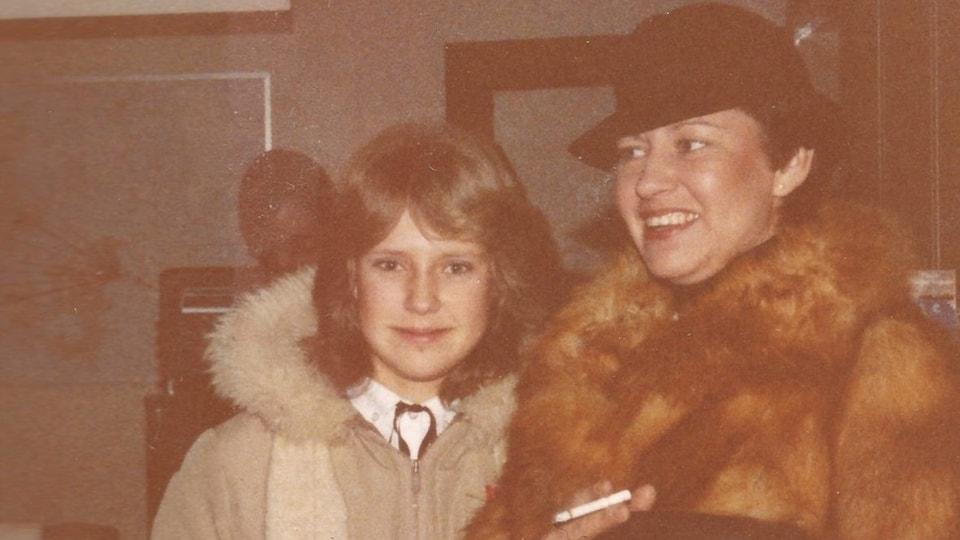 Jonna Laursen, à gauche, et sa fille Zitta, à droite.
