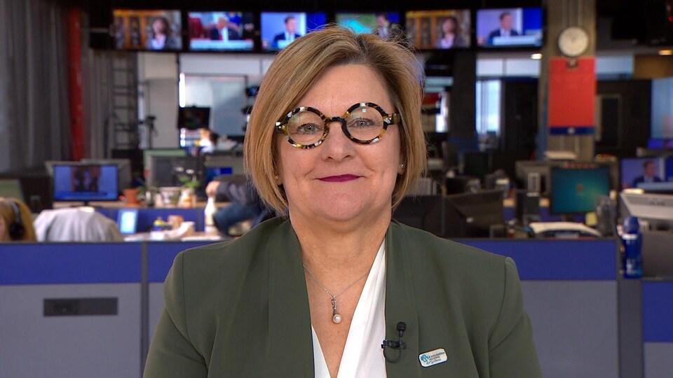 Josée Méthot en entrevue à Radio-Canada.
