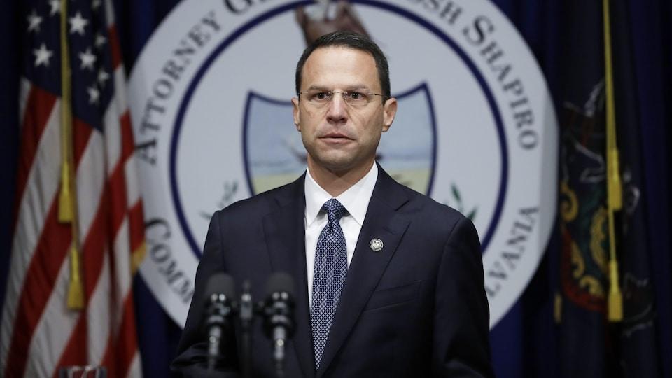 Le procureur général de Pennsylvanie, Josh Shapiro.