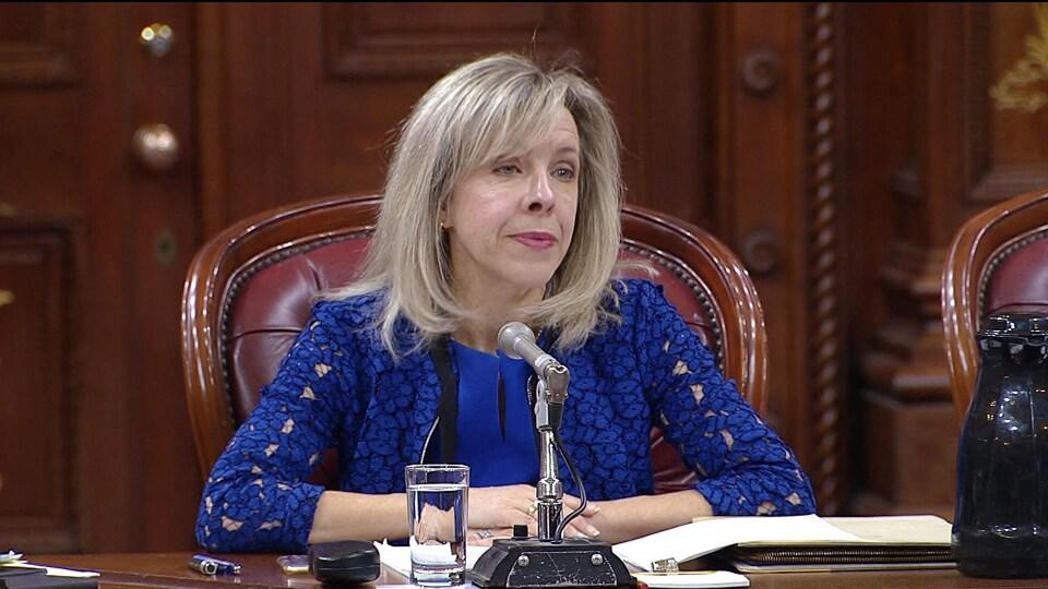 C'est la cinquième fois en 10 ans que Julie Latour vient défendre la laïcité en commission parlementaire.