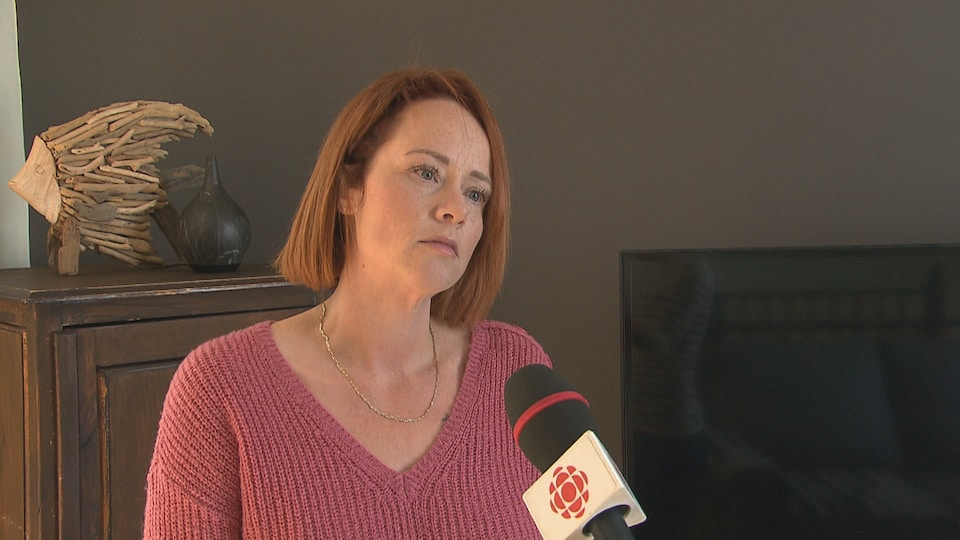 Julie Saint-Arnaud en entrevue