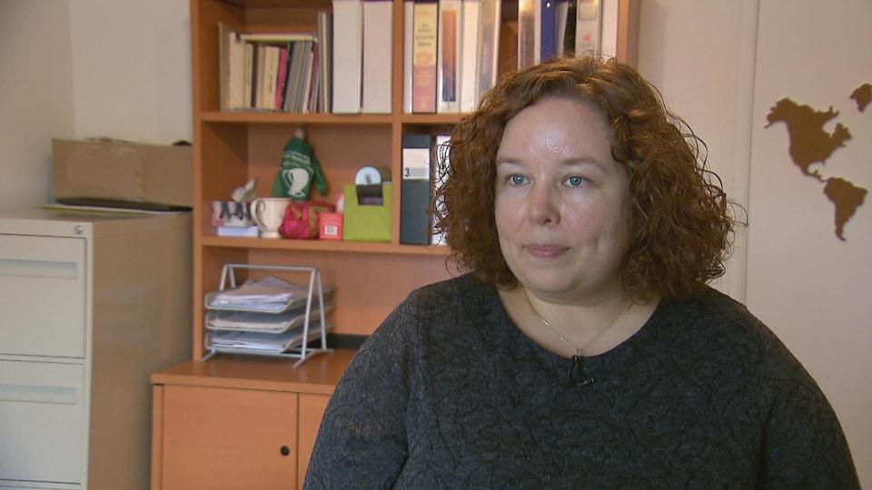 Julie Tremblay, directrice générale de l'organisme Viol-Secours.