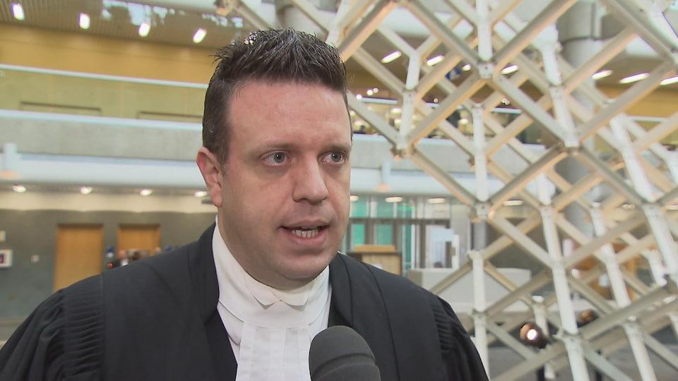 Me Julien Grégoire, avocat de la défense