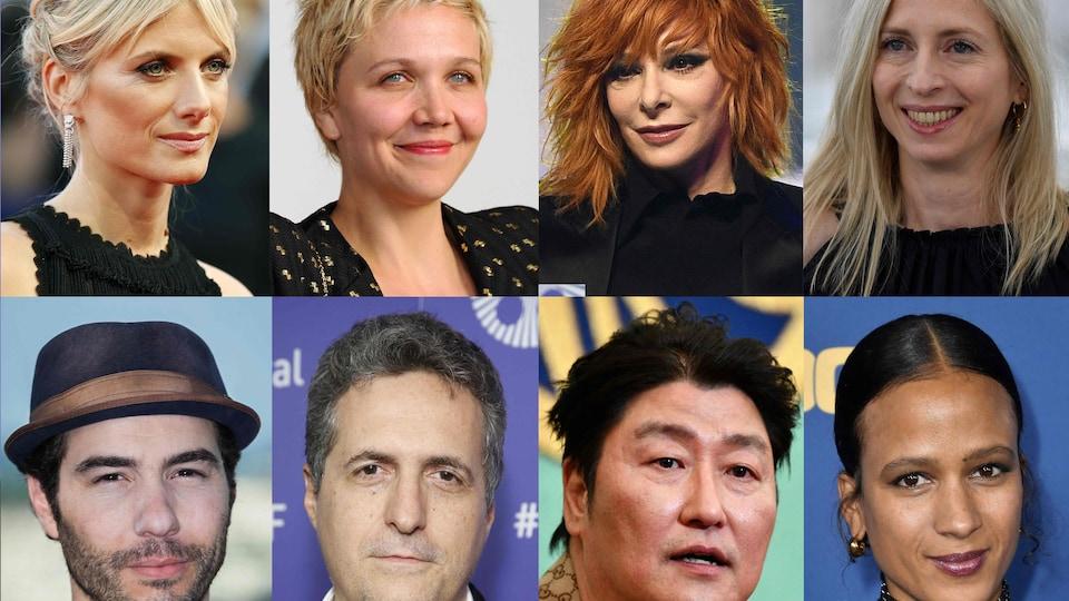 Montage photo de huit portraits de personnes.