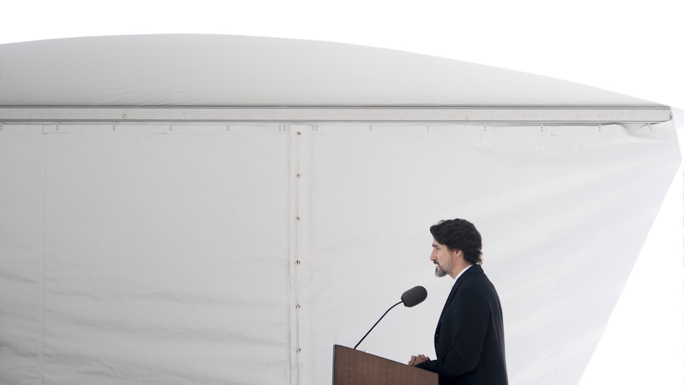 Le premier ministre Justin Trudeau.