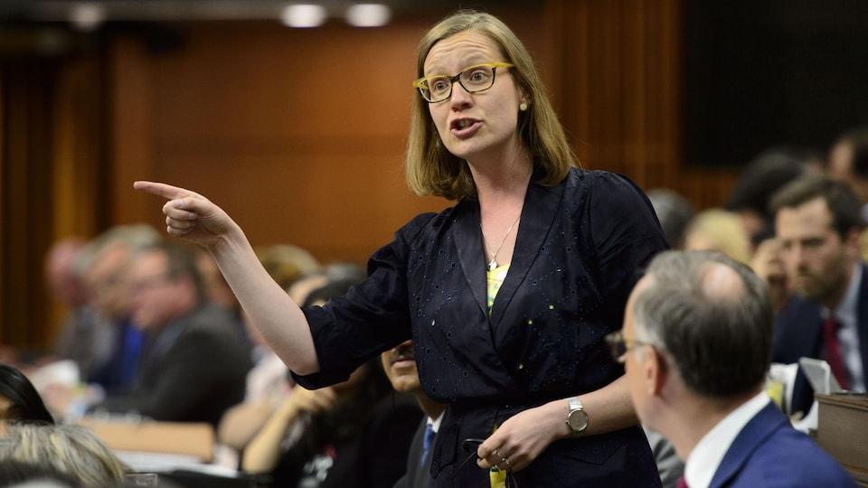 Karina Gould intervient à la Chambre des communes.