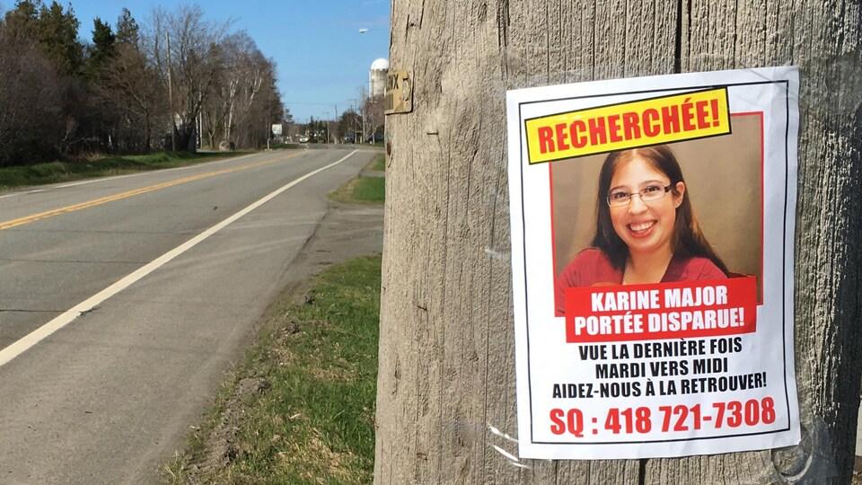 Karine Major était portée disparue depuis le 9 mai.