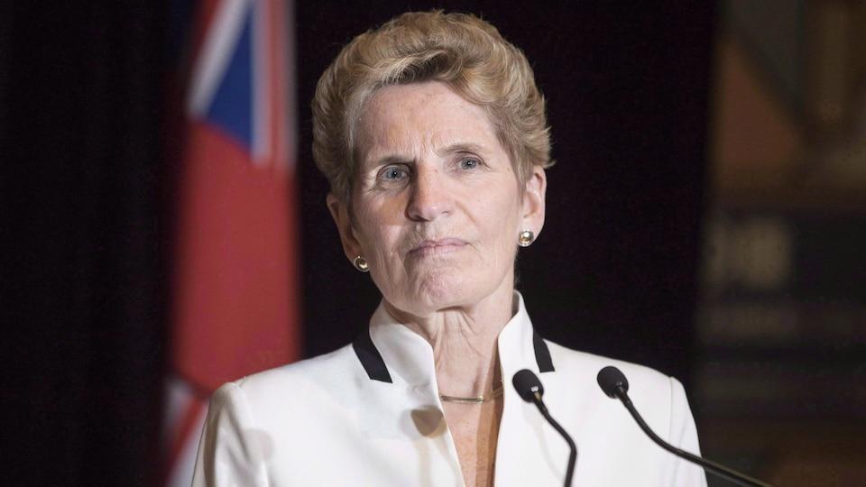 La première ministre ontarienne Kathleen Wynne.
