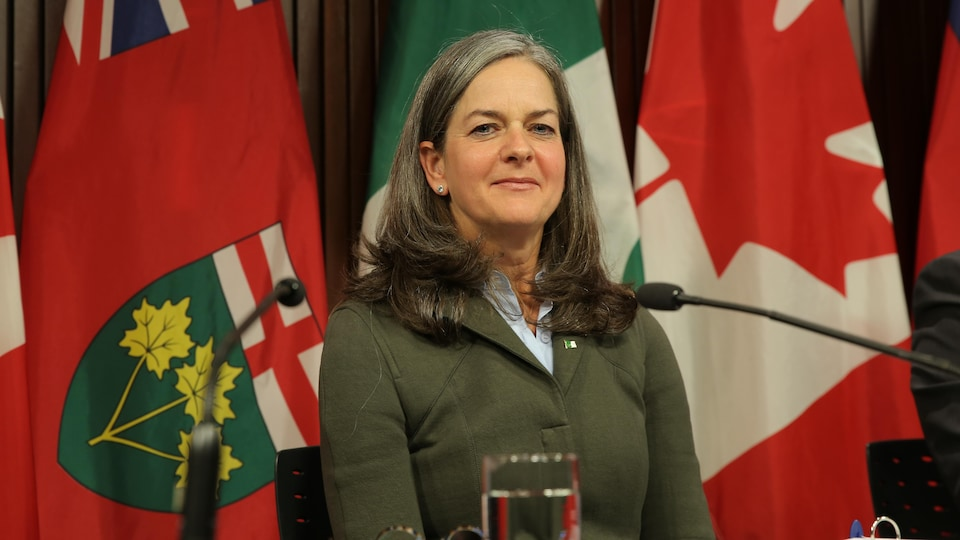 Kelly Burke, commissaire aux services en français de l'Ontario
