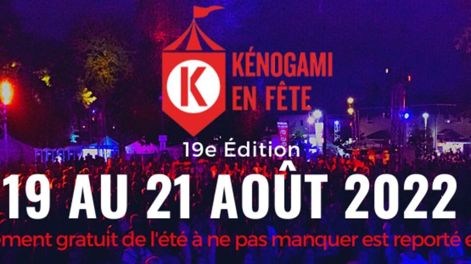 Une affiche de Kénoagami en fête