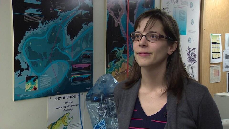 Kim Davies étudie les baleines à l'Université Dalhousie, à Halifax.