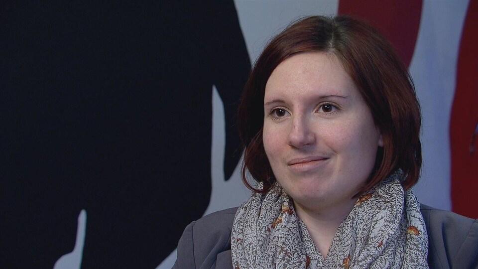 La directrice générale du Centre de ressources et de crises familiales Beauséjour de Shédiac, Kristal Leblanc.