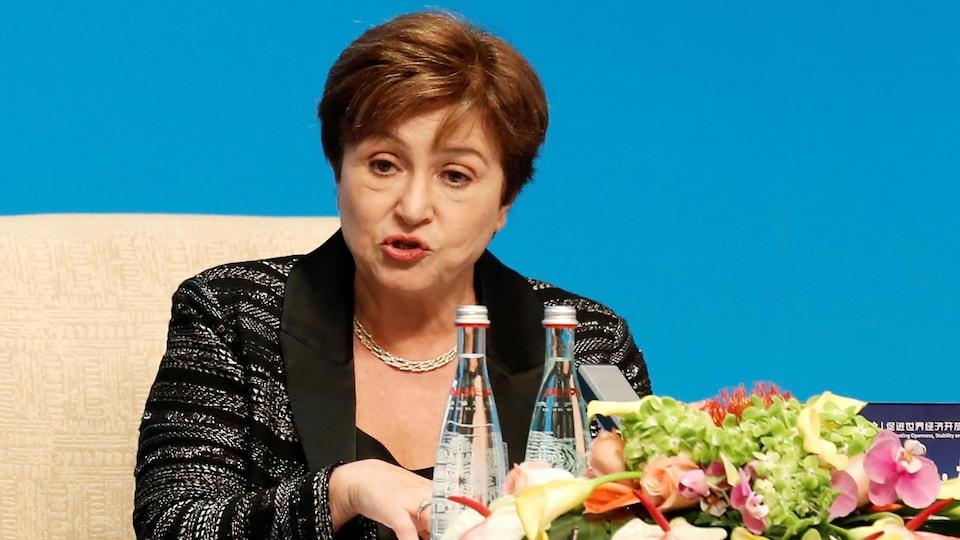 Kristalina Georgieva, directrice générale du FMI