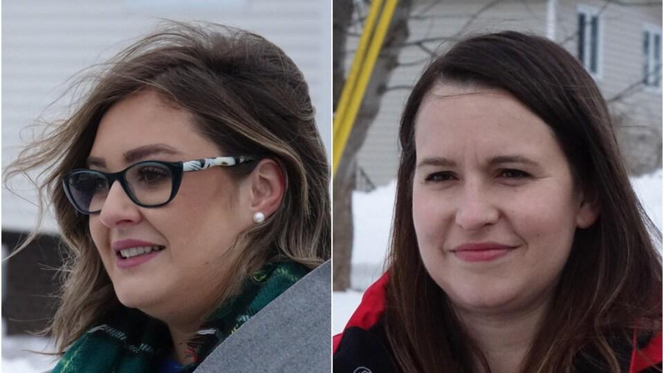 Kristina Ennis et Sarah Stoodley.
