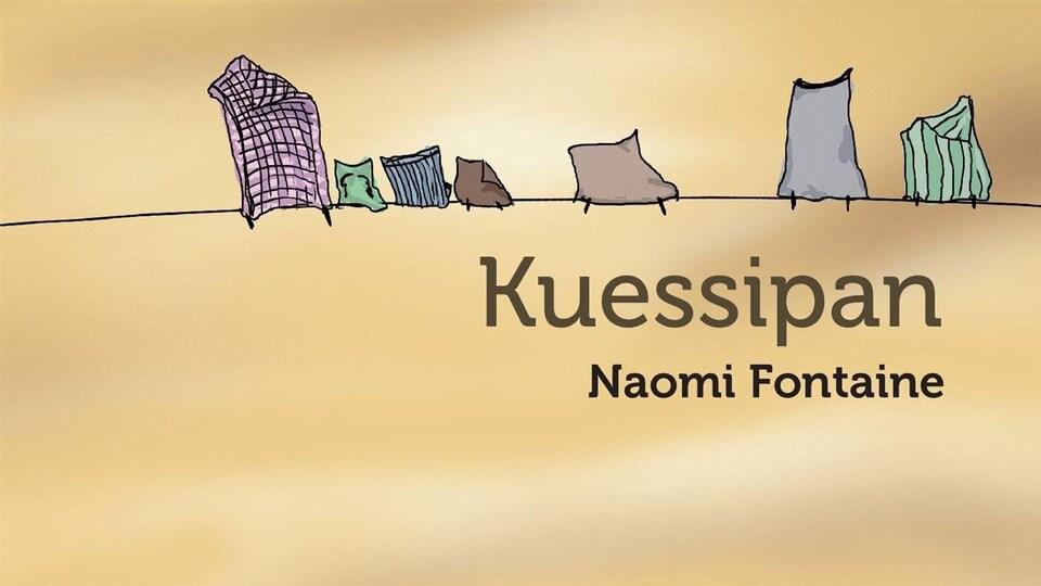 La couverture du livre «Kuessipan» de Naomi Fontaine