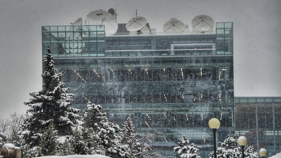 La nouvelle Maison de Radio-Canada.