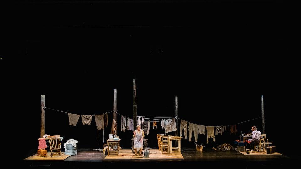 «La Sagouine» dans une mise en scène de Patrick Ouellet