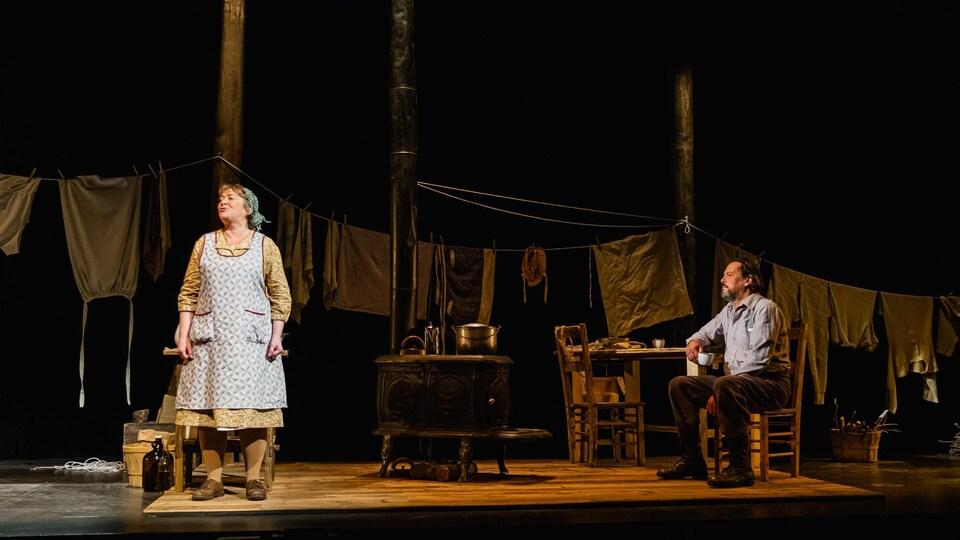 «La Sagouine» au Théâtre du Trident