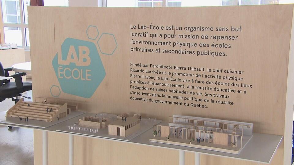 Le Lab-École a été lancé en novembre 2017.