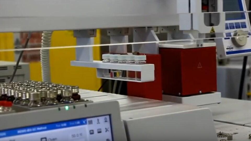 Un aperçu du laboratoire de SaskPower