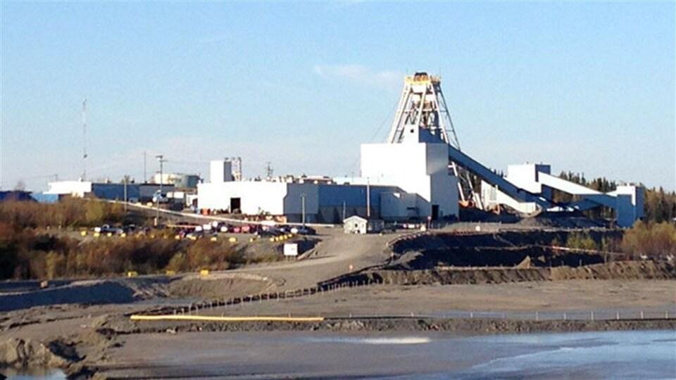 La mine Lac Bachelor de Métanor