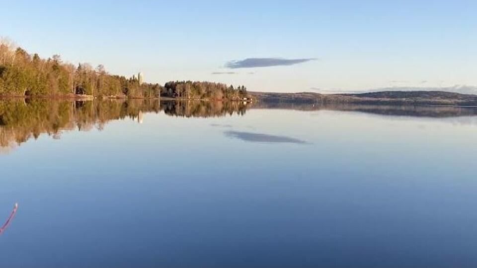 Le lac Matapédia.