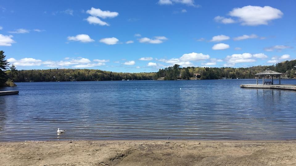 Le lac Rosseau, dans la région de Muskoka.
