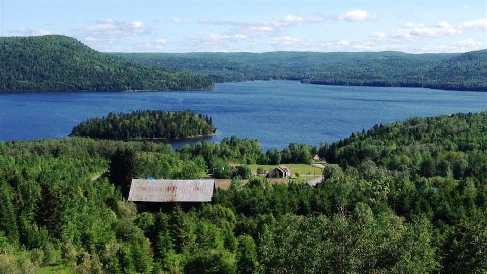 Le Lac Témiscouata.