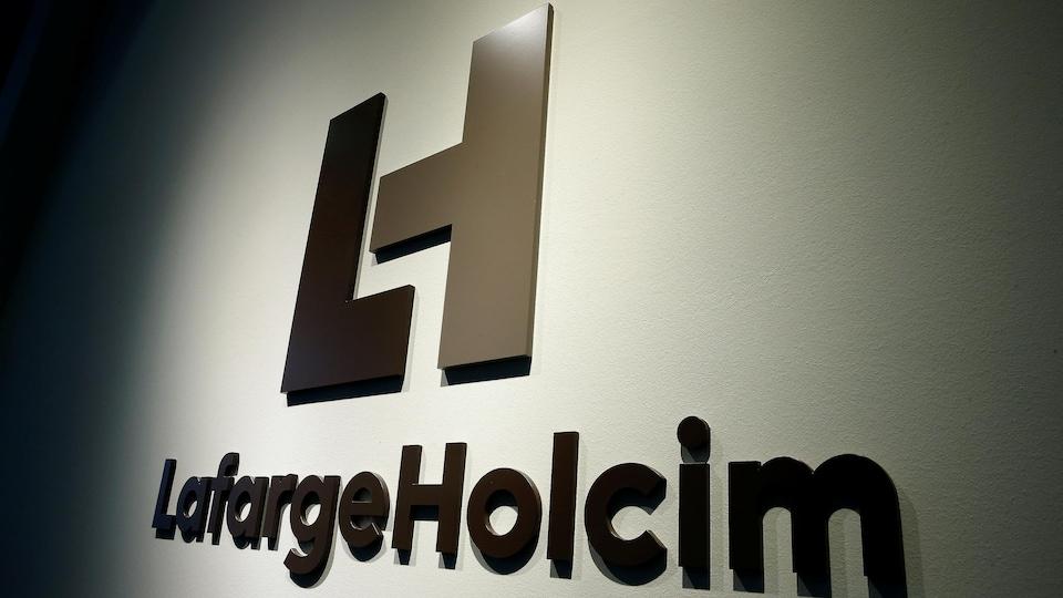 Le logo du cimentier LafargeHolcim