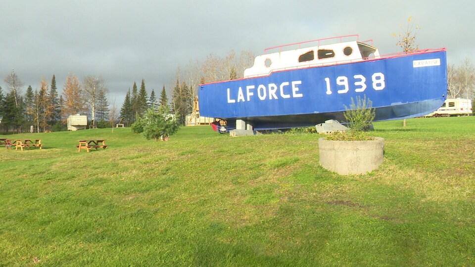 Le village de Laforce, au Témiscamingue