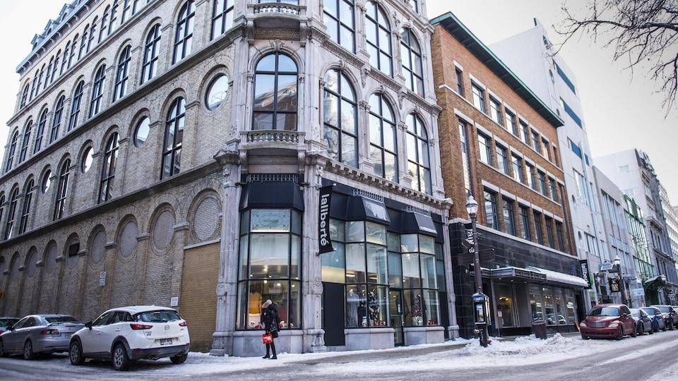 Le magasin Laliberté est au coeur de Saint-Roch depuis 1867.