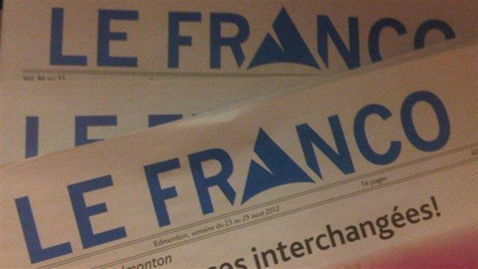 le journal Le Franco, première page
