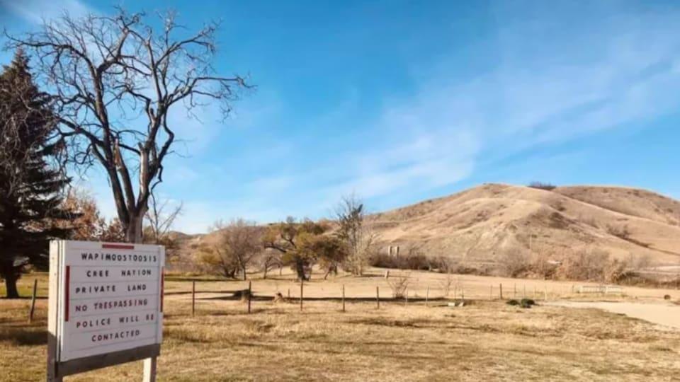 Le site de l'ancien pensionnat autochtone de Lebret.