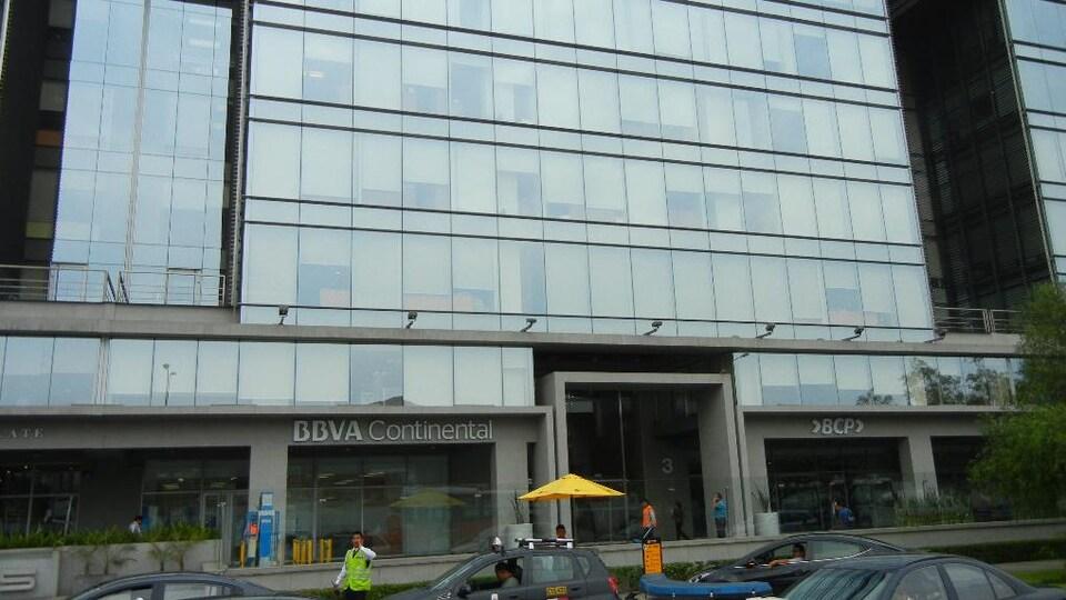 L'immeuble du siège social de la HudBay à Lima au Pérou.