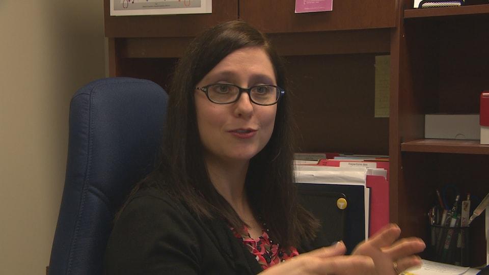 Roxanne Leduc en entrevue