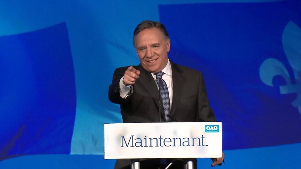 Le premier ministre désigné du Québec François Legault.