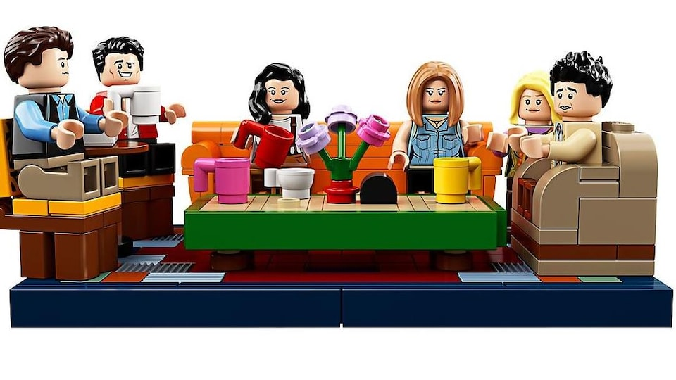 Le Central Perk arrive en LEGO — FRIENDS