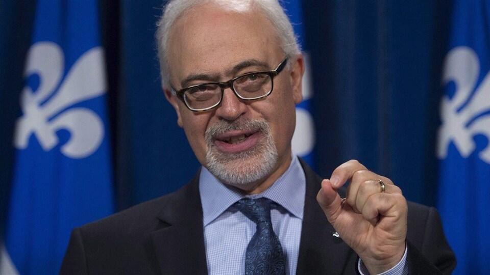 Le ministre des Finances du Québec, Carlos Leitao